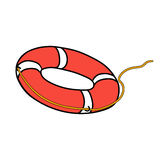 lifebuoy Photo libre de droits