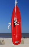Lifebuoy alla spiaggia Immagine Stock