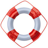 Lifebuoy as life saving equipment Royalty Free Stock Photography