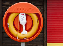 Lifebuoy at the Beach Stock Photos
