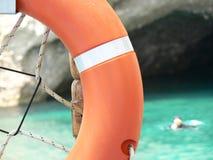 lifebuoy cirkel Arkivfoto
