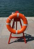 lifebuoy cirkel Fotografering för Bildbyråer