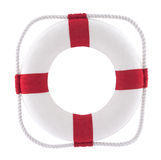 Lifebuoy with clipping path Royalty Free Stock Images