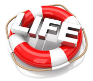 The lifebuoy Royalty Free Stock Image