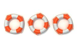 Lifebuoy 3d illustration Stock Images