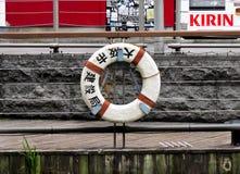 Lifebuoy, Dotonbori, Осака, Япония Стоковое Фото