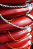 Lifebuoy for each. Royalty Free Stock Images