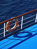 Lifebuoy et mer 2 Images libres de droits