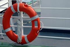 lifebuoy fartyg Fotografering för Bildbyråer