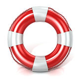 Lifebuoy. Front view Royalty Free Stock Images