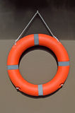 Lifebuoy hang on a wall Royalty Free Stock Photo
