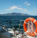 lifebuoy hav för fartyg Royaltyfri Fotografi