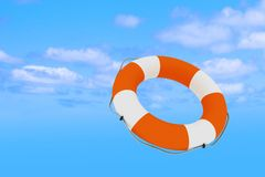 Lifebuoy for help Stock Photo
