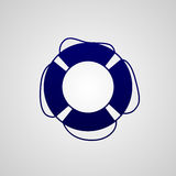 Lifebuoy icon Stock Photography