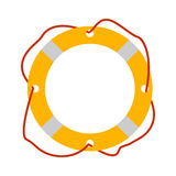 Lifebuoy Ikone Tourismusausrüstung Flussboots-Reisenetzelemente Stockfotografie