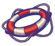 Lifebuoy stock illustration