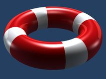 Lifebuoy isolated Stock Photos