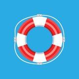 Lifebuoy isolated. Vector illustration Royalty Free Stock Photos