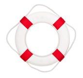 Lifebuoy, isolated on white Royalty Free Stock Image