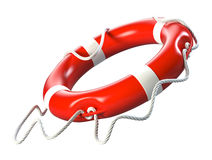 Lifebuoy. Isolated on white background Stock Image