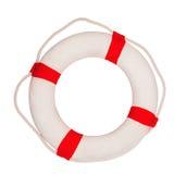 Lifebuoy. Isolated on white background royalty free stock photo