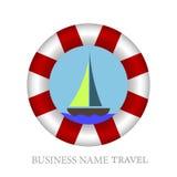 Lifebuoy journey Royalty Free Stock Photo