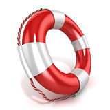 Lifebuoy. Left side view Stock Photography