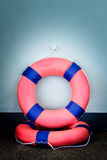 Lifebuoy and Life ring Stock Image