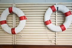 Lifebuoy and Life ring Stock Images