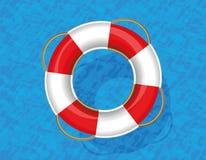 Lifebuoy Life Saver Ring Belt Water Stock Photos
