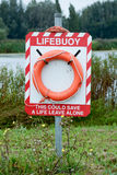 Lifebuoy - lifesaver ring Royalty Free Stock Photos