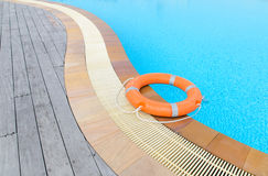 Lifebuoy orange Stock Images
