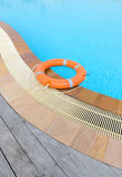 Lifebuoy orange Royalty Free Stock Image