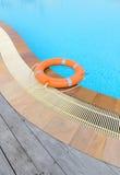 Lifebuoy orange Royalty Free Stock Image