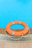 Lifebuoy orange Royalty Free Stock Photo