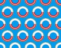 Lifebuoy pattern Stock Image