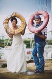 Lifebuoy, poślubia Fotografia Stock