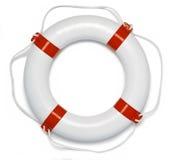 lifebuoy preservercirkel för boj Arkivfoton