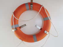 lifebuoy red Royaltyfri Fotografi