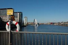 Lifebuoy River Spree Stock Images