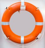 Lifebuoy with a rope Stock Photo