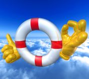 Lifebuoy safer Royalty Free Stock Photography
