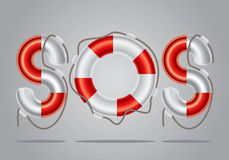 Lifebuoy Set 2 Royalty Free Stock Images