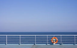 Lifebuoy on Ship Royalty Free Stock Images