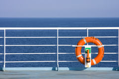Lifebuoy on Ship Stock Images