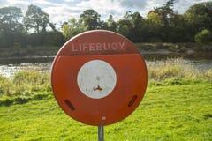 Lifebuoy sign Stock Image
