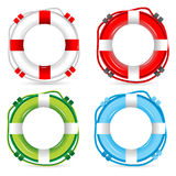 Lifebuoy signs Stock Photo
