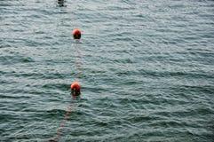 Lifebuoy su acqua Immagini Stock Libere da Diritti