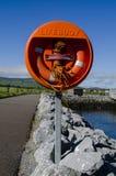 Lifebuoy w obszarze wiejskim Obrazy Stock
