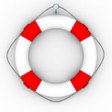 Lifebuoy on a white background Royalty Free Stock Photography